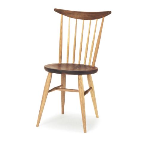 ■W554 windsor kitchen chair■W460×D480×H825・SH430■ウォールナット+オーク/オーク