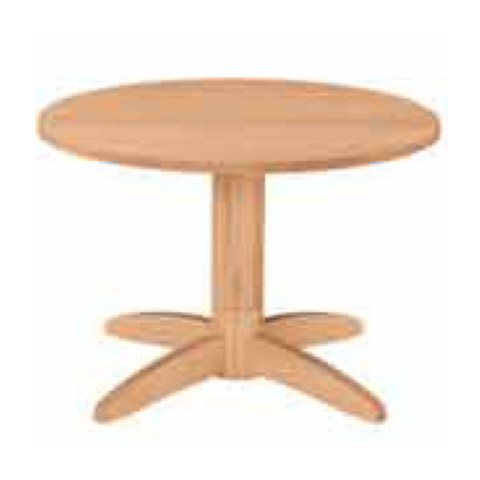 1本脚はたくさんの人が集まった時もテーブルの脚が邪魔にならないので便利です。